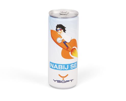 Reklamní energy drink