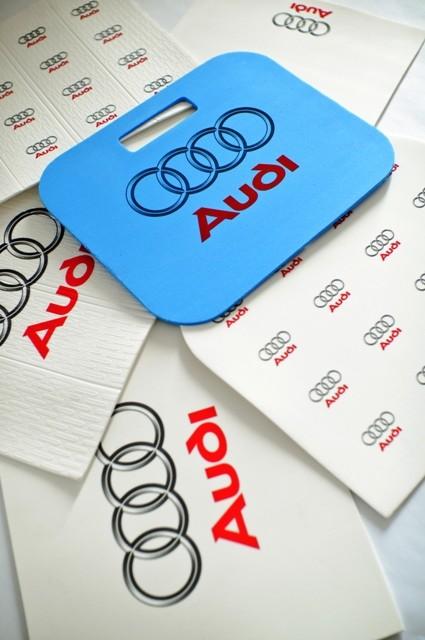Reklamní podsedáky Audi