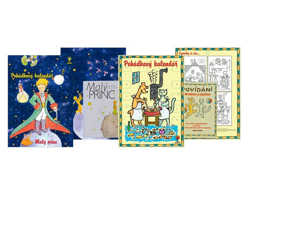 Kalendář s knihou