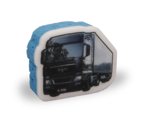 Reklamní mycí houba Kamion