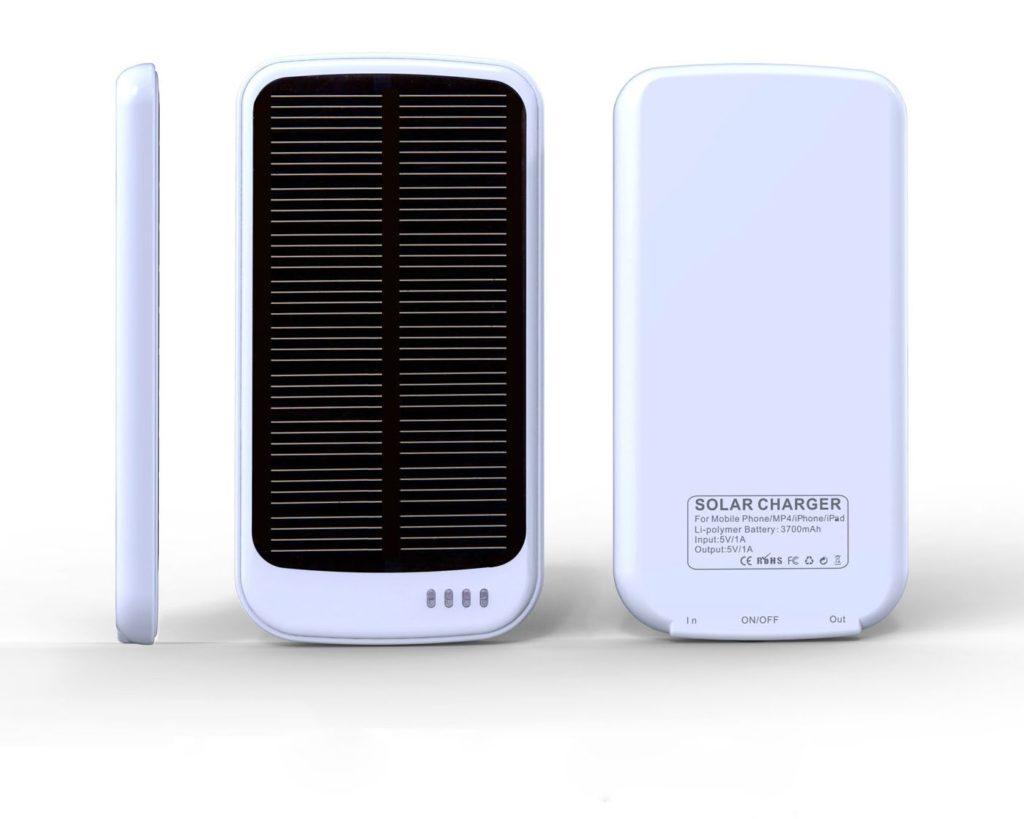 Reklamní solární nabíječka