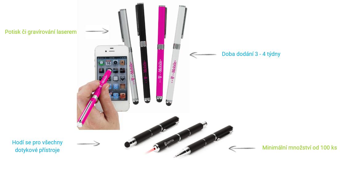 Reklamní stylusy