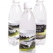Reklamní voda Mercedes
