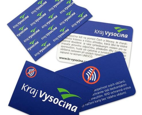 Bezpečnostní obaly na platební kartu