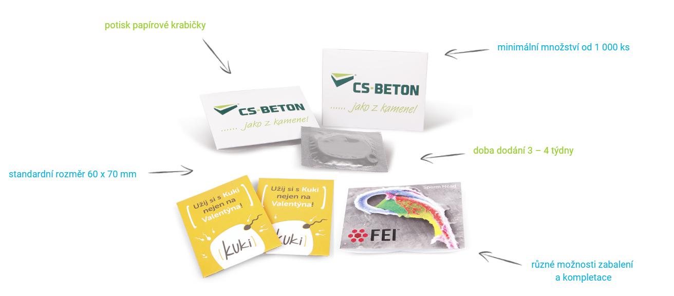 Zakázková výroba kondomů