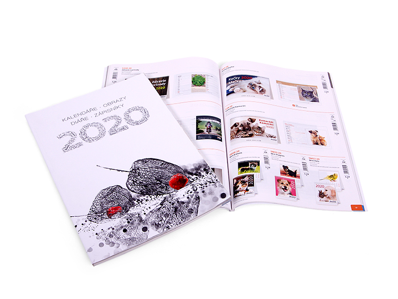 Diáře a kalendáře 2020