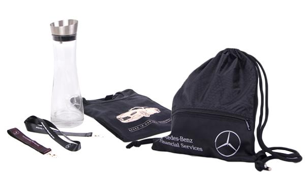 Reklamní předměty Mercedes-Benz