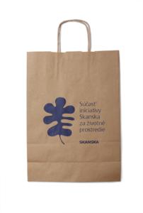 Papírová reklamní taška