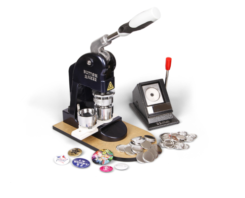 Nástroj na výrobu vlastních buttonů, placek a odznaků