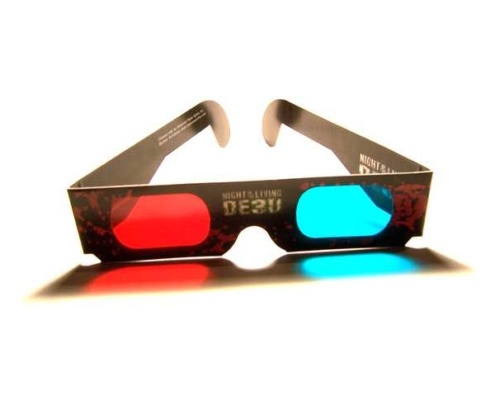 Papírové 3D brýle