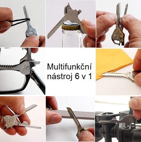 Multifunkční nástroj 6v1