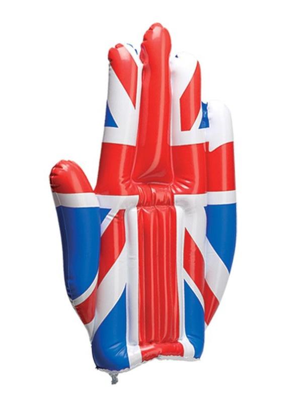 Nafukovací reklamní rukavice