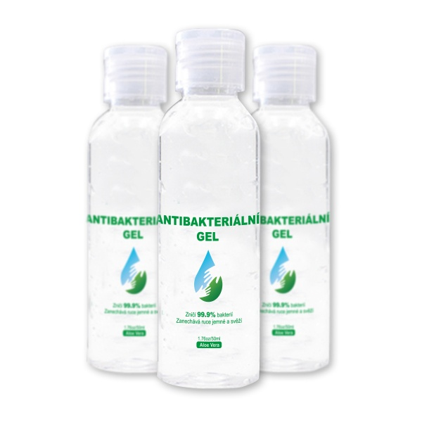 Antibakteriální gely