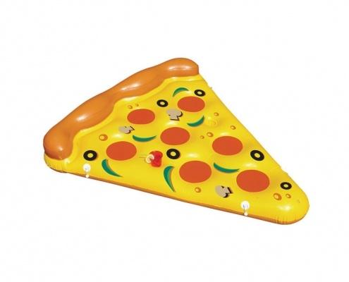 Reklamní nafukovací lehátko ve tvaru pizzy